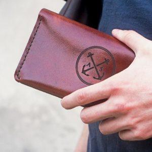 Duży portfel męski skórzany portmonetka męska