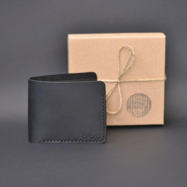 Portfel męski skórzany ręcznie robiony jako o prezent urodzinowydla męża