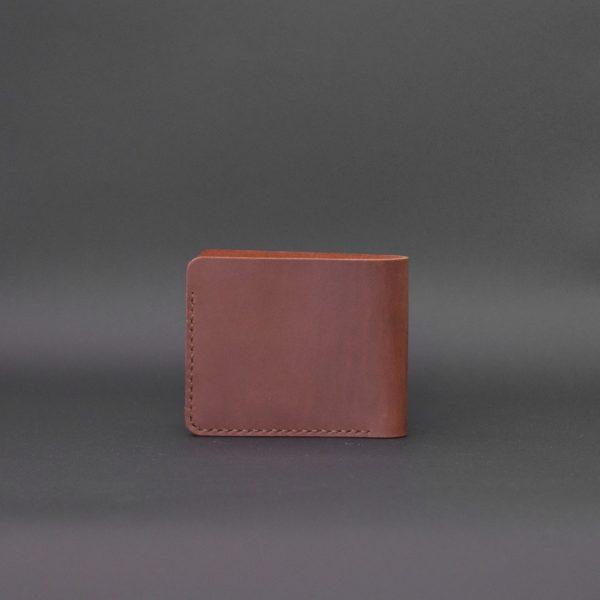 brązowy męski portfel skórzany Handmade Vintage. prezent