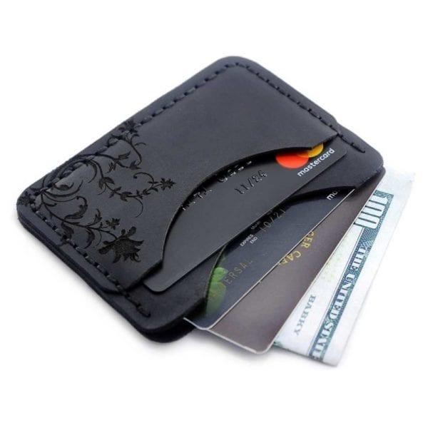 Cardholder Cone Black etui na karty