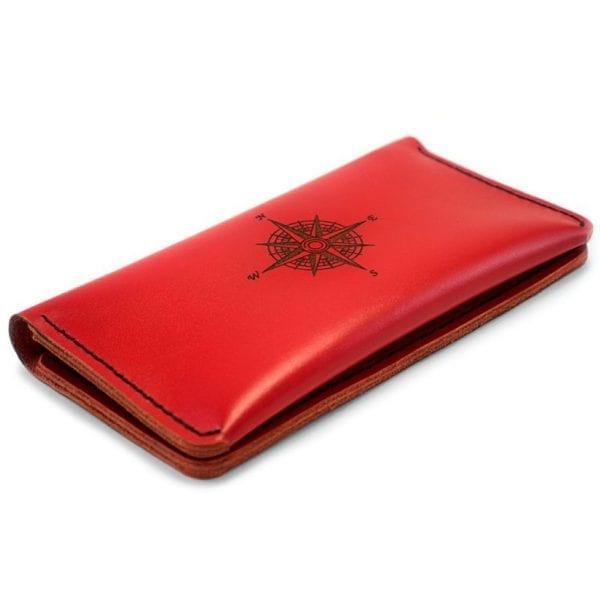 Purse-clutch Case, wine red
