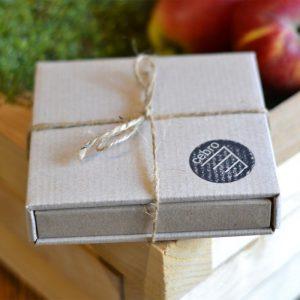 Pudełko z kartonu kraftowego