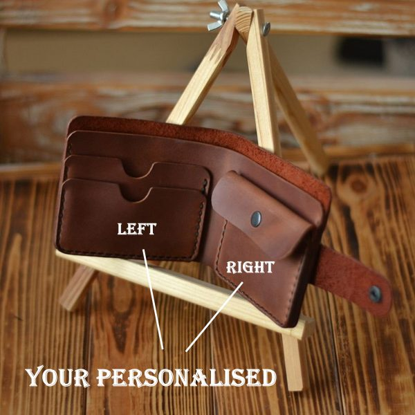Custom wallet engraving personalised