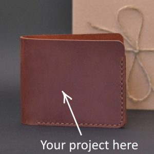 Portfel z personalizacjej, foto, inicjay portfel z grawerem na zamówienie